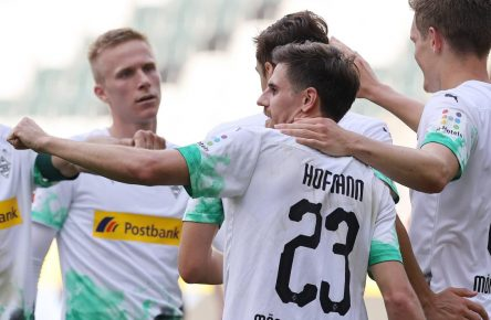 Jonas Hofmann trifft doppelt für Borussia Mönchengladbach
