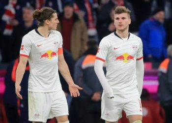 Marcel Sabitzer und Timo Werner