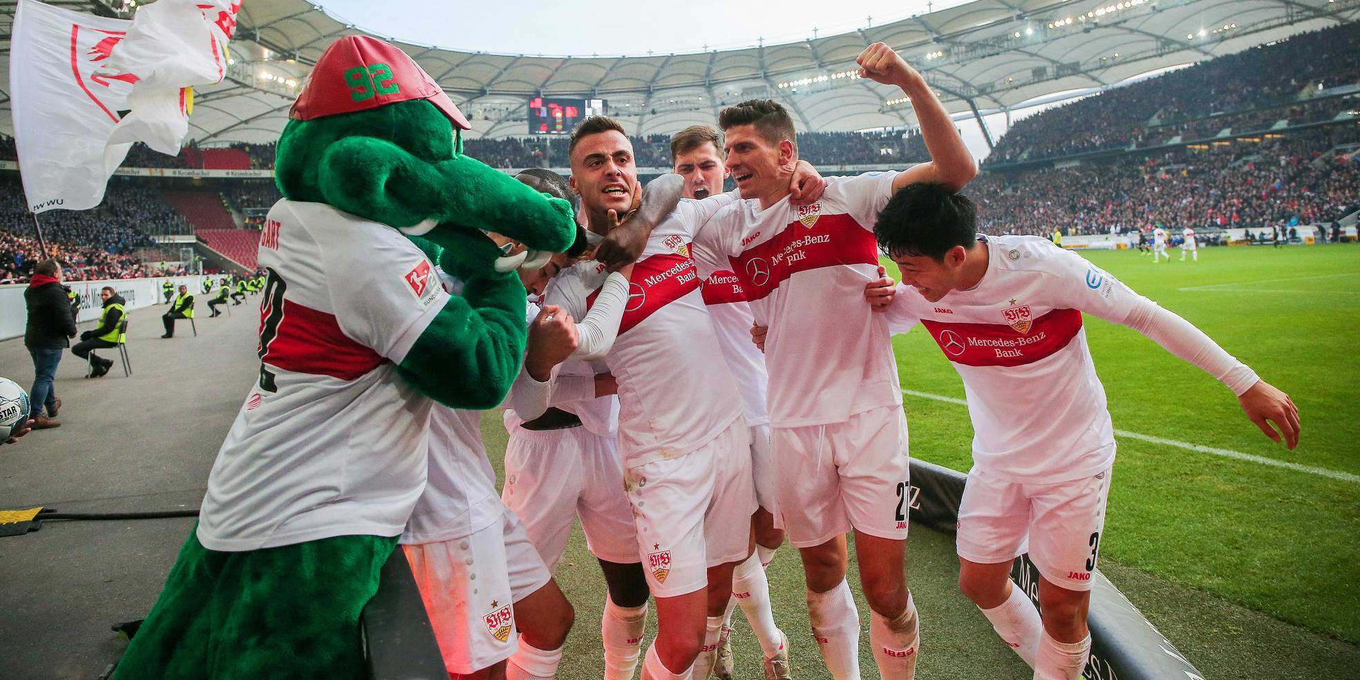 Der VfB Stuttgart ist zurück in der Bundesliga