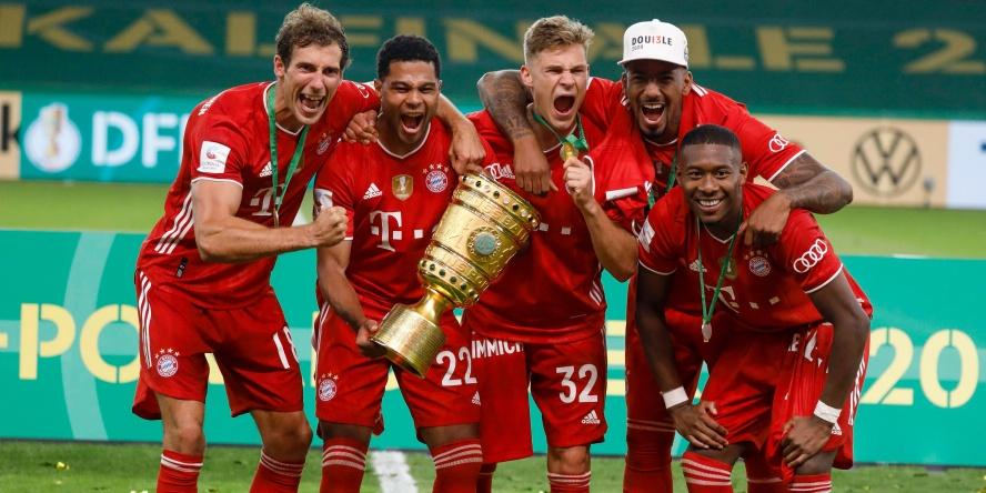 Der FC Bayern feierte in der Saison 2019/20 das Double.