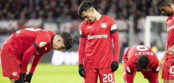 Bayer 04 Leverkusen steht mit leeren Händen da
