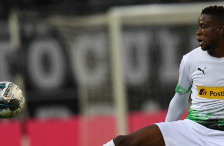 Am Ball für Borussia Mönchengladbach: Denis Zakaria
