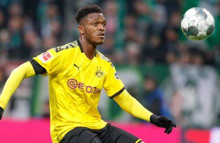 Dan-Axel Zagadou von Borussia Dortmund