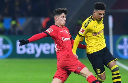 Kai Havertz und Jadon Sancho