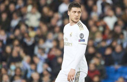 Luka Jovic von Real Madrid