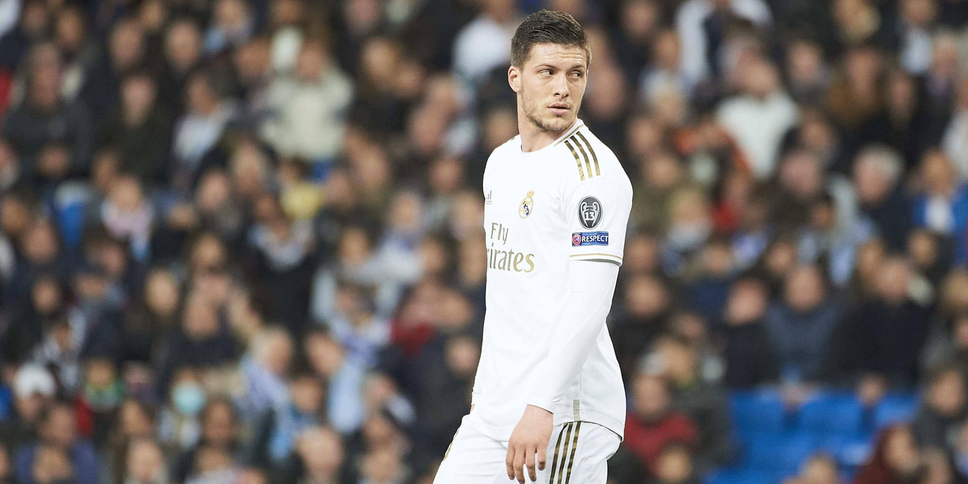 Luka Jovic von Real Madrid