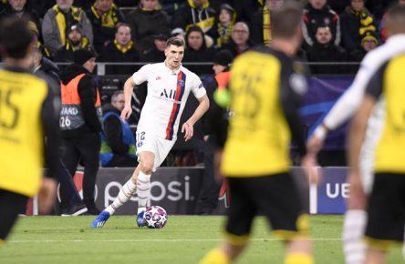 12 THOMAS MEUNIER PSG FOOTBALL : Borussia Dortmund vs Paris SG - Ligue des Champions -18/02/2020 AnthonyBIBARD/FEP/Panoramic PUBLICATIONxNOTxINxFRAxITAxBEL