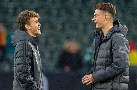 Robin Koch und Luca Waldschmidt