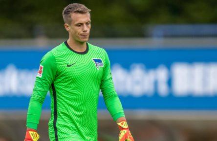Alexander Schwolow von Hertha BSC