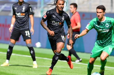 Valentino Lazaro im Einsatz für Borussia Mönchengladbach