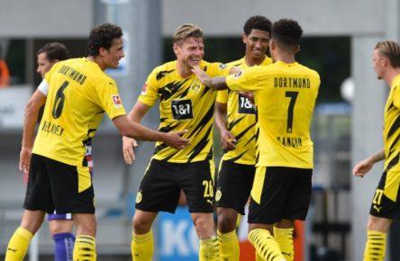 Viele Tore, viel Spaß - der BVB genießt die Testspiele.