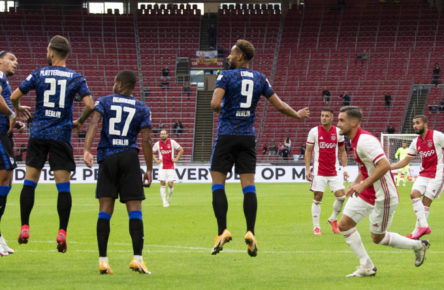 Ajax Amsterdam besiegt Hertha BSC