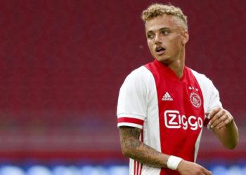 Für Ajax Amsterdam am Ball und im Fokus von Hertha BSC: Noa Lang