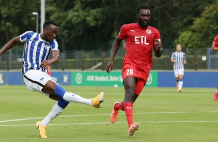 Dodi Lukebakio trifft für Hertha BSC