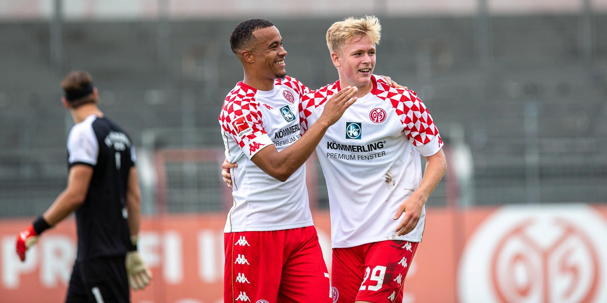Jonathan Burkardt vom FSV Mainz 05