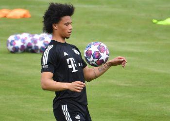 Leroy Sane vom FC Bayern München