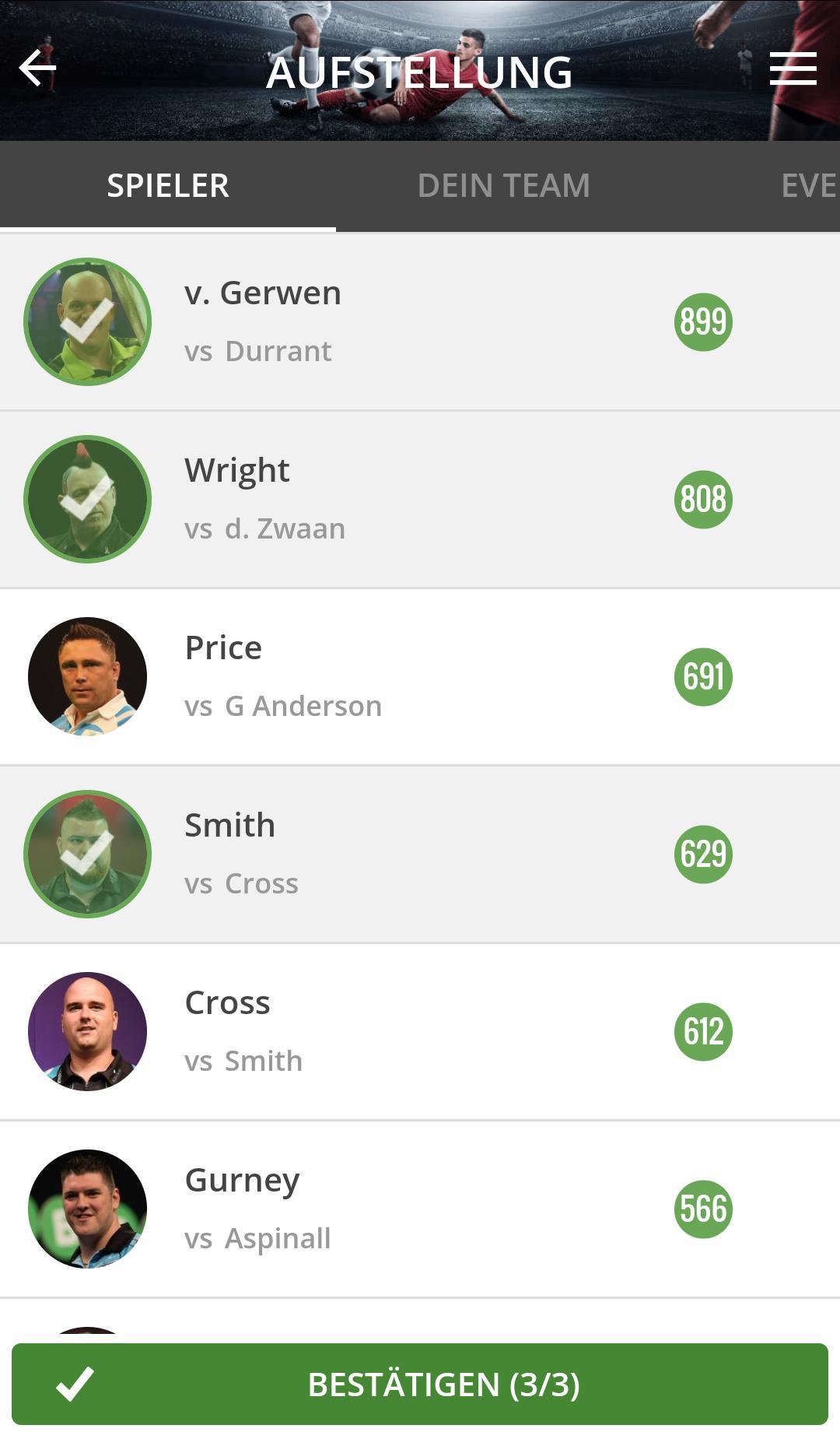 Die Premier League Darts bei ComunioFUN