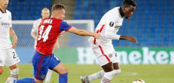Danny da Costa im Europa-League-Einsatz für Eintracht Frankfurt