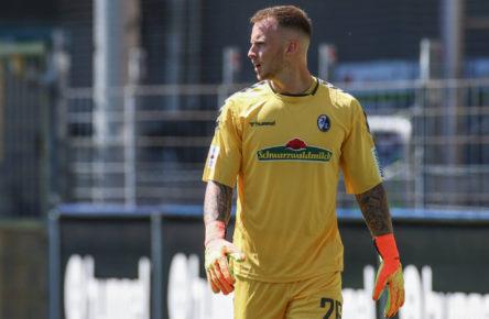 Die neue Nummer eins beim SC Freiburg: Mark Flekken