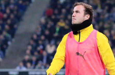 Mario Götze wird wieder mit dem FC Bayern in Verbindung gebracht.