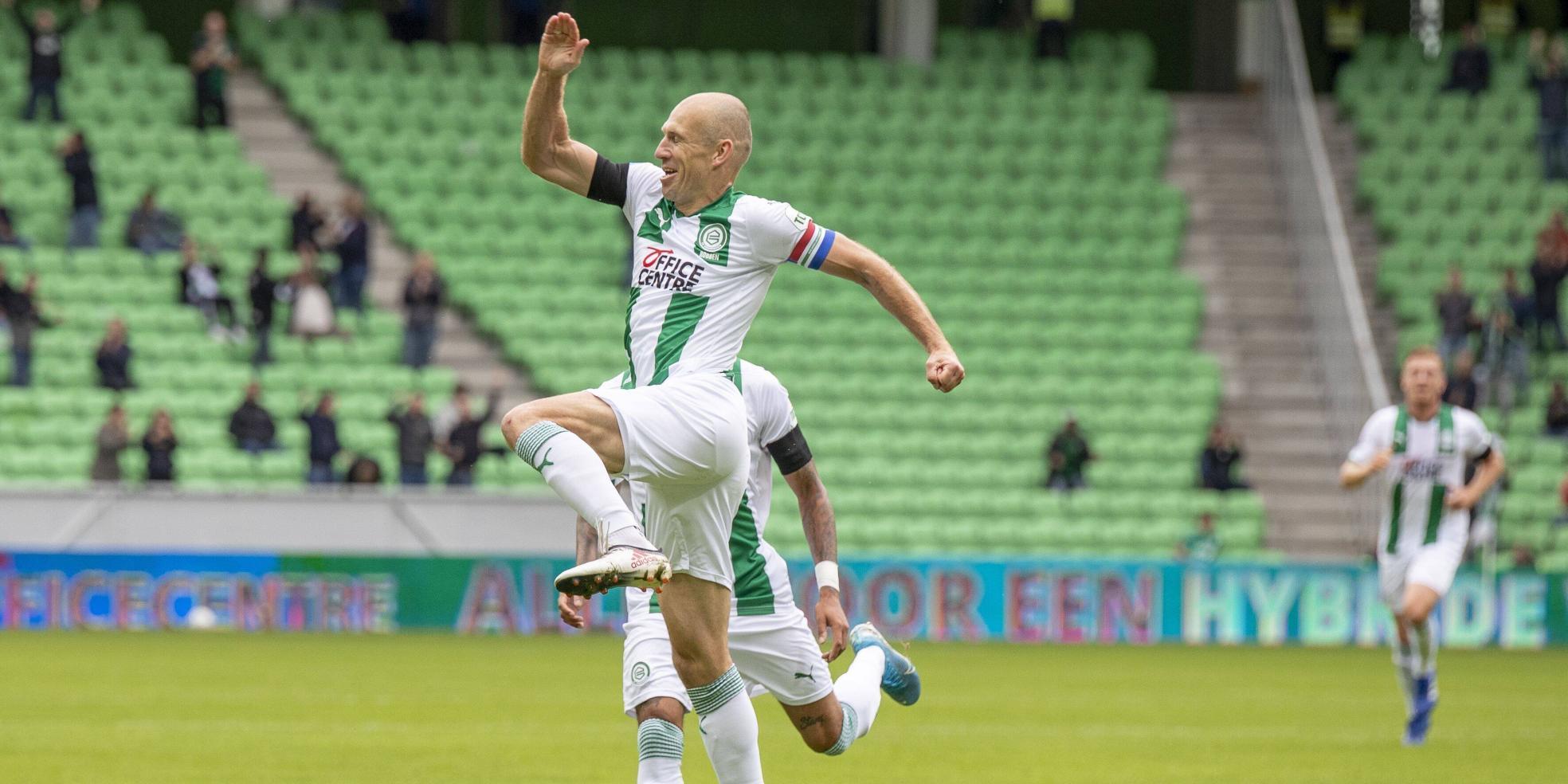 Arjen Robben trifft für Groningen im Testspiel gegen Bielefeld