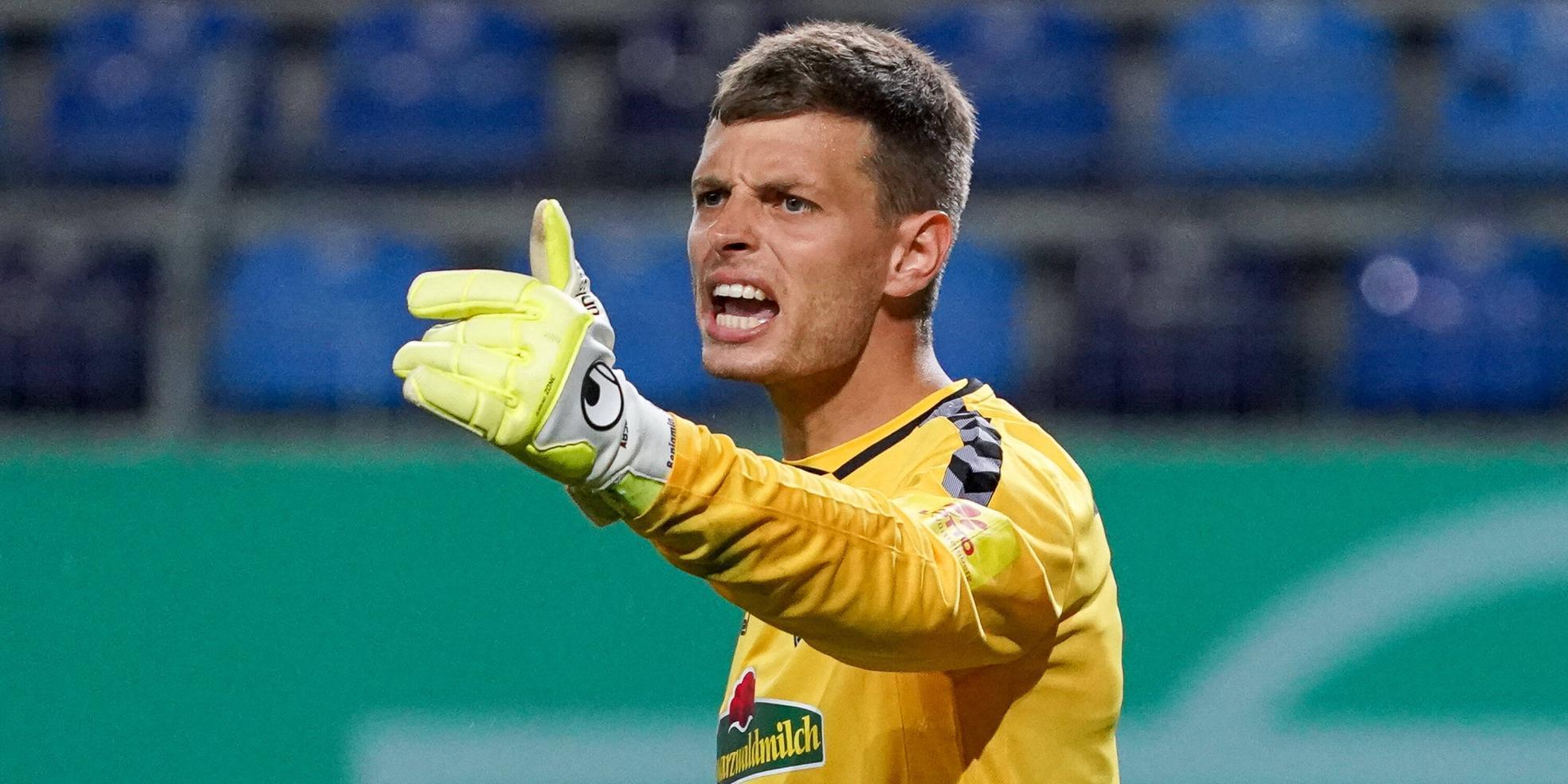 Benjamin Uphoff vom SC Freiburg