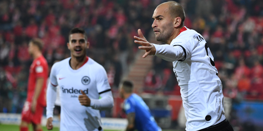 Kaufempfehlungskollegen: Bas Dost und Andre Silva von Eintracht Frankfurt