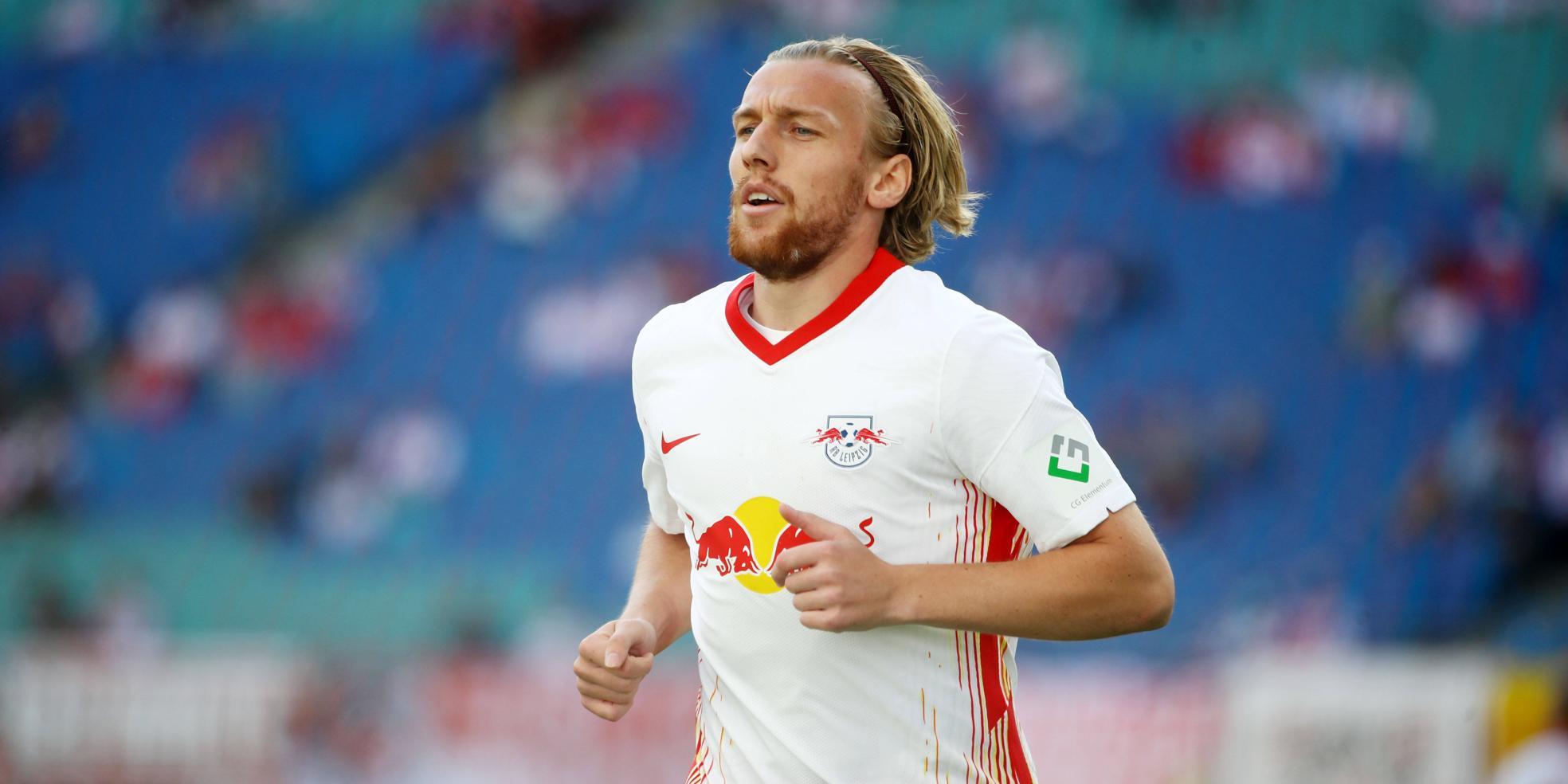 Emil Forsberg von RB Leipzig