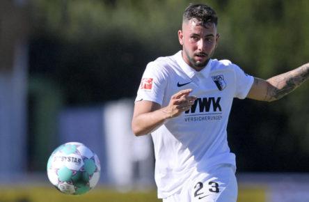 Im Visier des 1. FC Köln: Marco Richter vom FC Augsburg