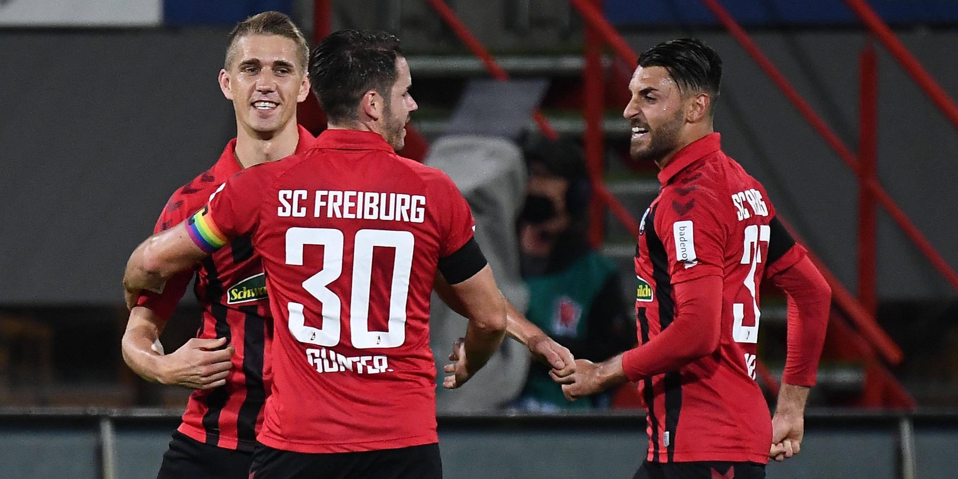 SC Freiburg: Petersen, Günter, Grifo