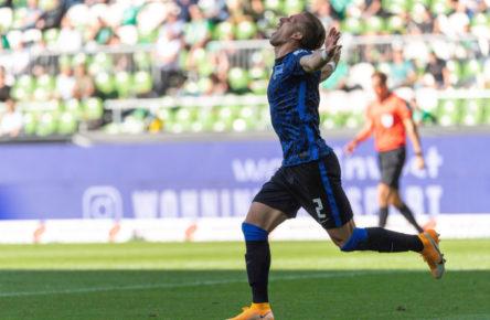 In ungewohnter Rolle als Torschütze: Peter Pekarik von Hertha BSC
