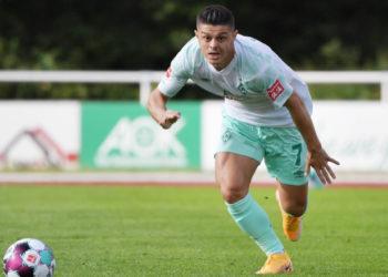 Noch für Werder Bremen am Ball: Milot Rashica