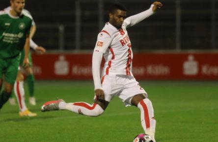 Überragend im Testspiel: Anthony Modeste vom 1. FC Köln