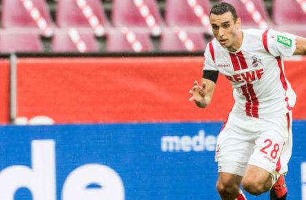 Für den 1. FC Köln im Einsatz: Ellyes Skhiri
