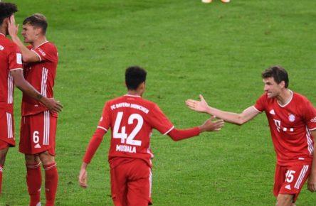 Jamals Musiala (r.) und Chris Richards könnten beim FC Bayern in den kommenden Wochen zum Einsatz kommen.