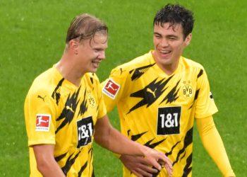 Das BVB-Duo Haaland und Reyna