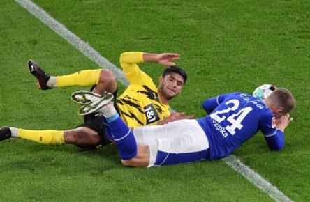 Mahmoud Dahoud gegen Schalke 04