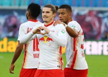 Marcel Sabitzer trifft bei seinem Comeback für Leipzig
