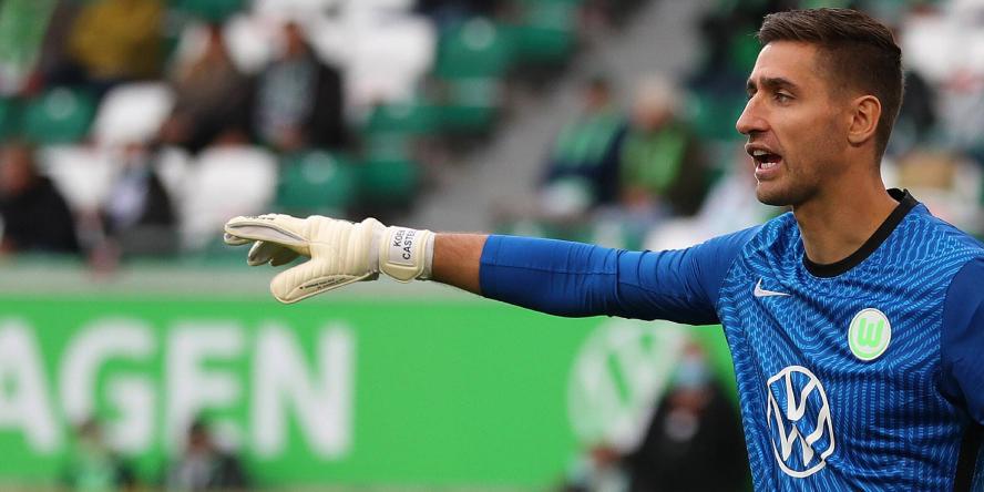 Tonangebend im Tor: Koen Casteels vom VfL Wolfsburg