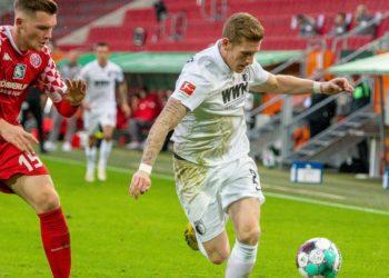 Andre Hahn vom FC Augsburg