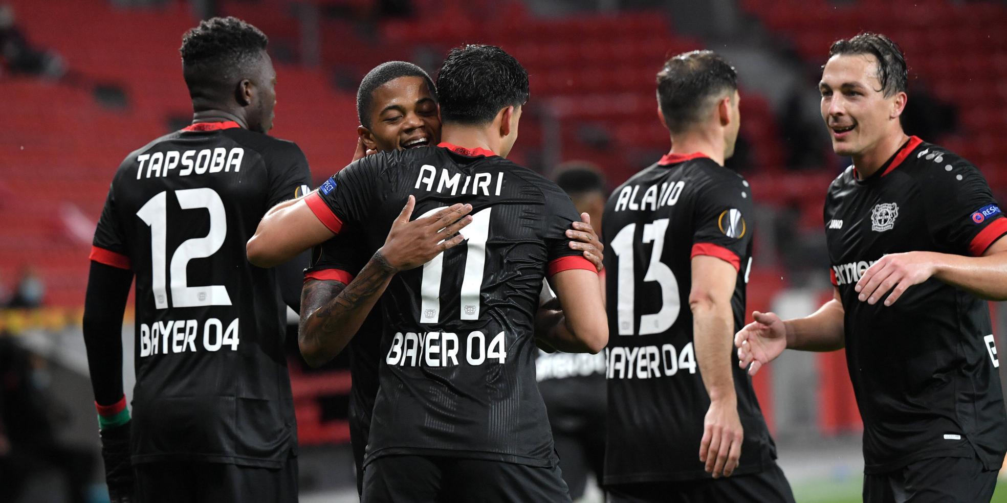 Bayer 04 Leverkusen ist die Mannschaft der Stunde