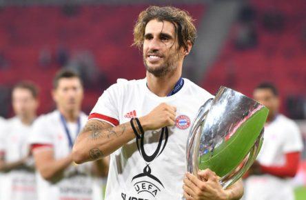 Javi Martinez vom FC Bayern München