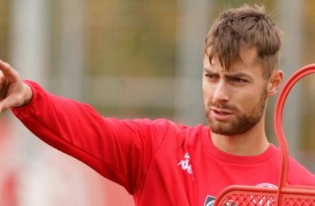 Alexander Hack kommt beim FSV Mainz 05 wieder aus Spielzeit