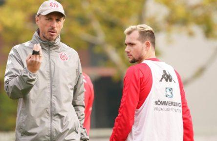 Mainz 05: Trainer Lichte, Mittelfeldspieler Stöger