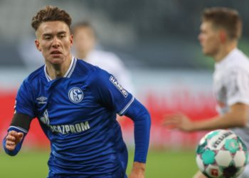 Matthew Hoppe vom FC Schalke 04