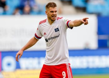 Simon Terodde vom Hamburger SV