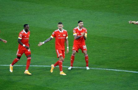 Der 1. FC Union Berlin ist in der Erfolgsspur