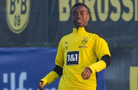 Youssoufa Moukoko von Borussia Dortmund