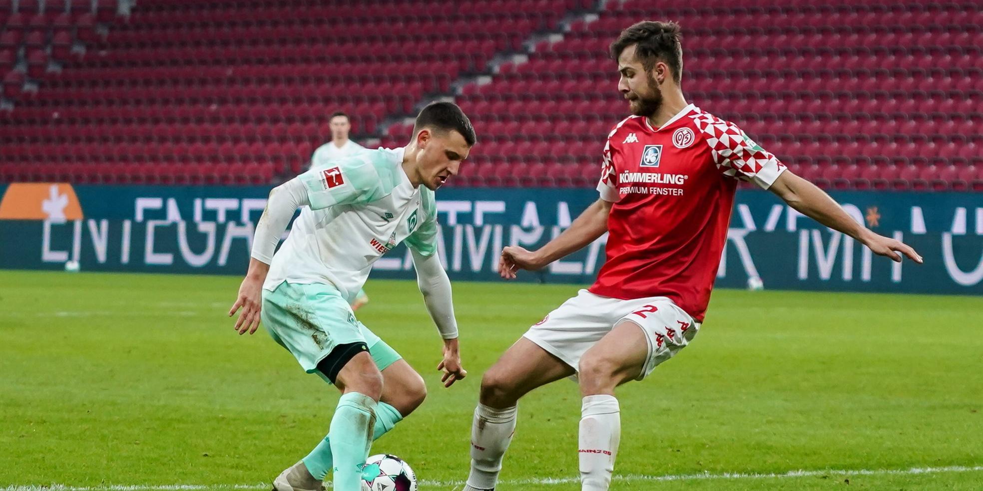 Alexander Hack vom 1. FSV Mainz 05