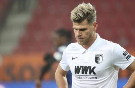 Florian Niederlechner vom FC Augsburg